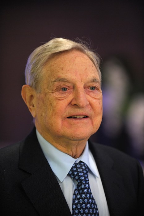 George Soros. Фото: ERIC PIERMONT/AFP/Getty Images