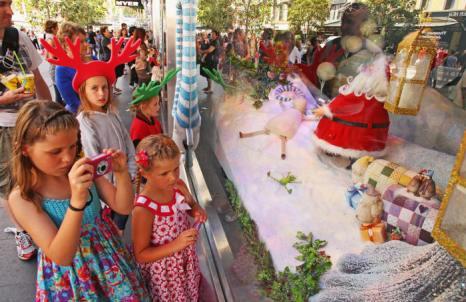 Дети и Дед Мороз в Мельбурне. Фоторепортаж. Фото: Scott Barbour / Getty Images