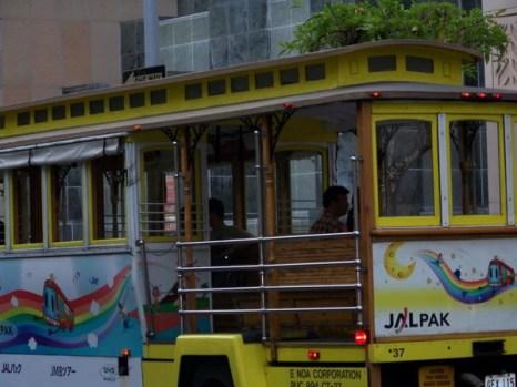 Поездка на трамвае по авеню Калакуа. Фото: Эн ПИЛЛСБЕРИ/Великая Эпоха /The Epoch Times