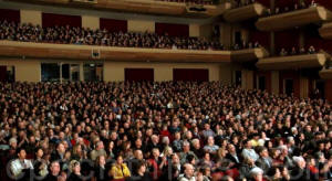 Аудитория наслаждается исполнением Shen Yun Performing Arts в концертном зале Китченер-Ватерлоо. Фото с сайта clearwisdom.net