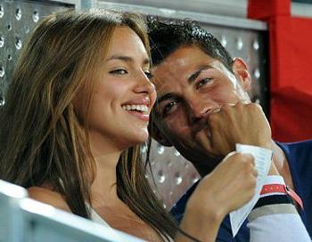 Ирина Шейхисламова  станет женой известного футболиста Криштиана Роналда. Фото с сайта gazeta.lv