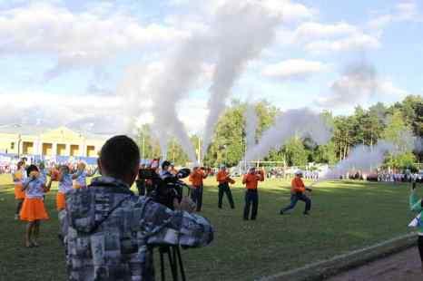 Танец пожарных. Фоторепортаж. Фото: Николай Ошкай/Великая Эпоха (The Epoch Times)
