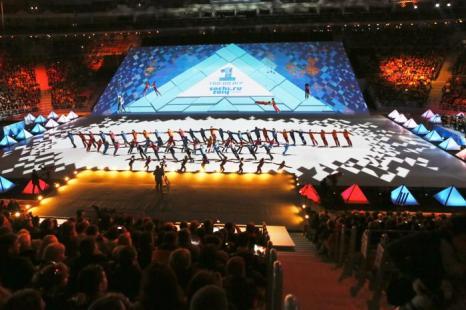 В Сочи отпраздновали год до Олимпиады 2014. Фото: Oleg Nikishin/Getty Images