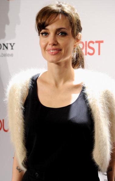 Анджелина Джоли, 16 декабря 2010, Мадрид, Испания. Фото: Carlos Alvarez/Getty Images