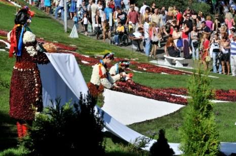 В Киеве открылась ежегодная выставка цветов. Фото: Владимир Бородин/The Epoch Times