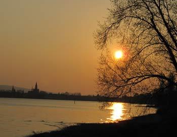 Закат на Боденском озере. Фото: Николай Богатырев