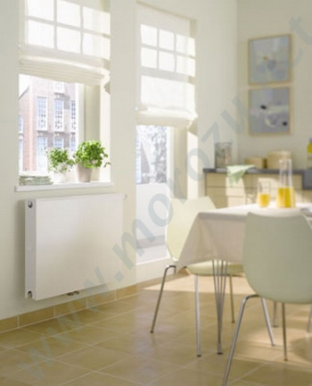 Компания KERMI выпускает панельные радиаторы, которые имею различную систему подключения: боковую и нижнюю. Фото: morozu.net