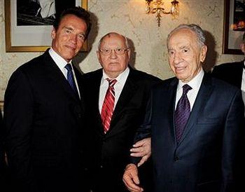 Михаил Горбачев отметил свое 80-летие со звездами Голливуда в королевском Альберт-холле. Фото: Dave Benett/G80/Getty Images