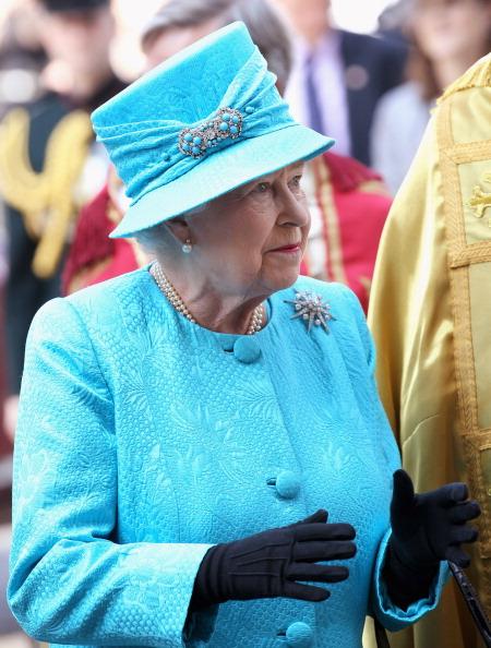 Королева Елизавета II отмечает юбилей. Фото: WPA Pool, Chris Jackson/Getty Images