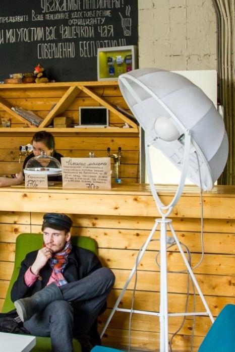 В экологическом ресторане «Зелёная комната». Фото: Олег Луценко/Великая Эпоха (The Epoch Times)