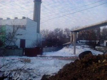 В Донецке сотни многоэтажных домов на сутки лишились отопления. Фото с donbass.ua