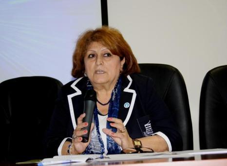 Саадат Бананярлы - председатель Азербайджанской группы МОПЧ. Фото: Ульяна Ким/Великая Эпоха (The Epoch Times)
