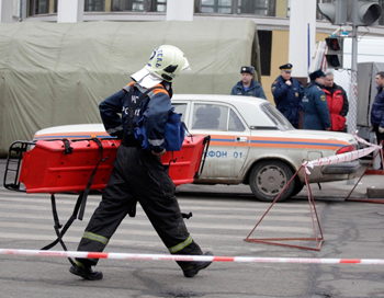Теракт в Москве 29 марта 2010г. Фото: AFP/Getty Images