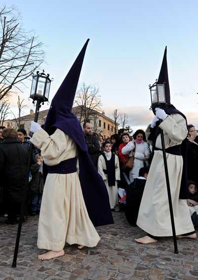 Замора, Испания. Страстная процессия. Фото: Jasper Juinen/Getty Images