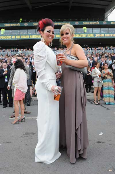 Ladies Day в Ливерпуле (Англия). Фото: Christopher Furlong/Getty Images