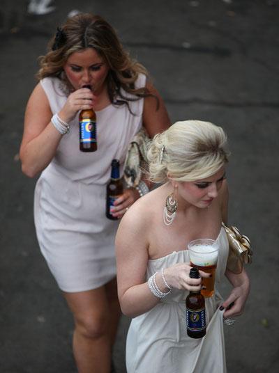 Ladies Day. Скачки закончены.  Фото: Christopher Furlong/Getty Images