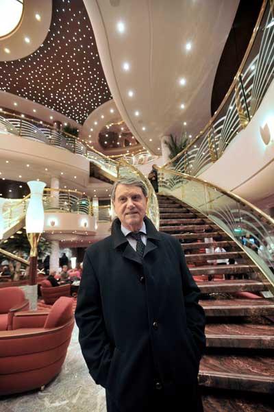 Лайнер MSC Magnifica. Президент итальянской круизной компании MSC Джанлуиджи Апо.  Фото: FRANCK PERRY/AFP/Getty