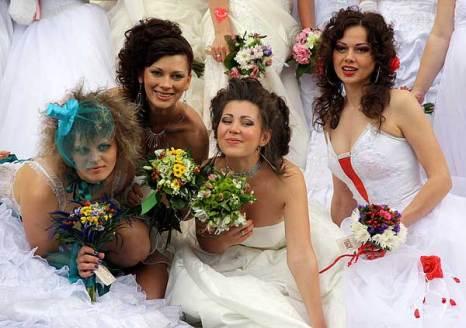 Парад невест в Одессе. Фото: Ульяна Ким/Великая Эпоха