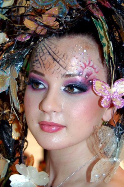 Постижёрная работа. Тема «Butterfly» (бабочка). Фото: Ирина Оширова/Великая Эпоха