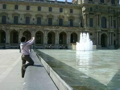 Лувр. Туристов пока еще немного. Фото: Ирина Павловская/Великая Эпоха