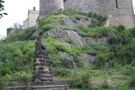 Базальтовые столбики.  Крепость Штольпен. Фото: Сима Петрова