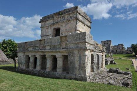 Внешний вид храма. Тулум, древний город цивилизации майя. Фото: CRIS BOURONCLE/AFP/Getty Images