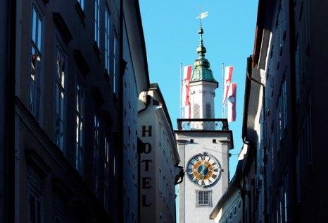 Старое здание муниципалитета. Зальцбург – место рождения Моцарта. Фото: Miguel Villagran/Getty Images