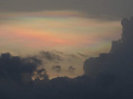 Радужные облака. Фото: Татьяна Виноградова/Великая Эпоха