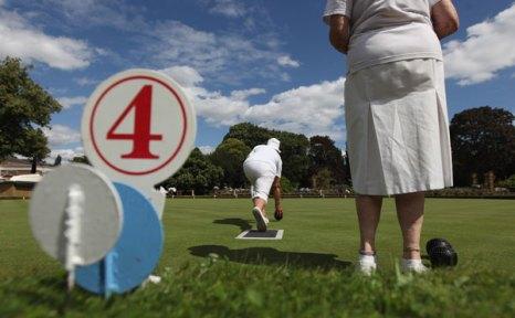 На «Салоне Приве» можно поиграть в гольф. Фото: Dan Kitwood/Getty Images
