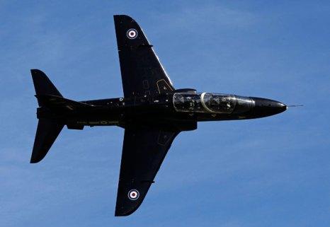 Учебно-тренировочный самолет и штурмовик RAF Hawk. Фото: Christopher Furlong/Getty Images