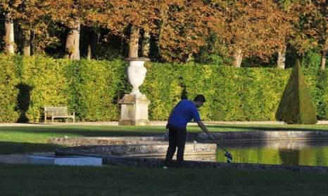Парк замка Во-ле-Викомт. Фото: Pascal Le Segretain/Getty Images