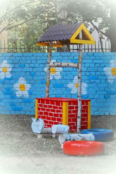 Детская площадка в детском саду №115 г.Рязани. Фото: Сергей Лучезарный/Великая Эпоха (The Epoch Times)