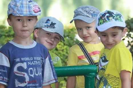 Дети детского сада №115 г.Рязани. Фото: Сергей Лучезарный/Великая Эпоха (The Epoch Times)