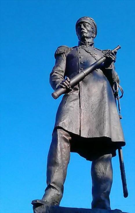 Открытие памятника Нахимову. Фото: Татьяна Мельникова/Великая Эпоха (The Epoch Times)