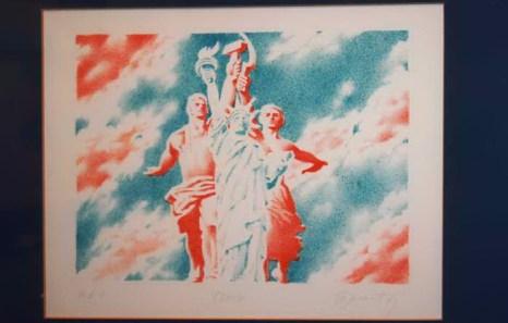 Картина с выставки «За железным занавесом». Фото: Ульяна Ким/Великая Эпоха (The Epoch Times)
