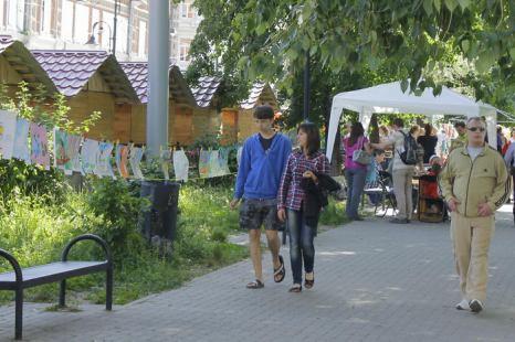 Выставка экологических рисунков. Фото: Николай Карпов/Великая Эпоха (TheEpochTimes)