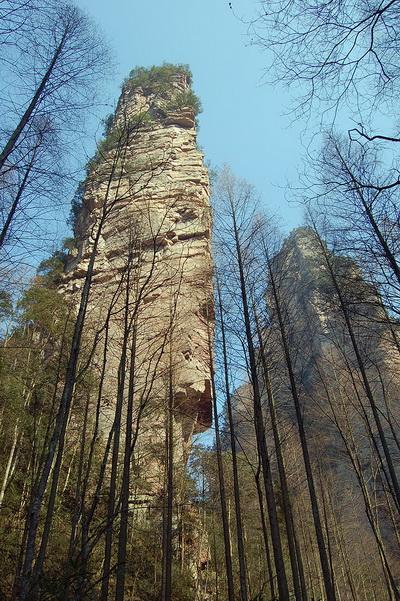 Чжанцзяцзе - родина летающих гор из «Аватара». Фото с сайта bigpicture.ru