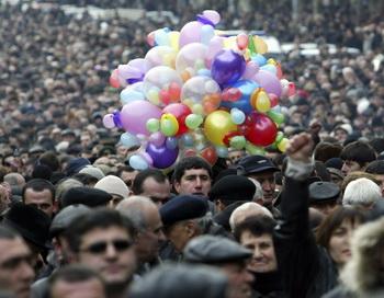 Армения. Ереван.Фото: Vano Shlamov/Getty Images