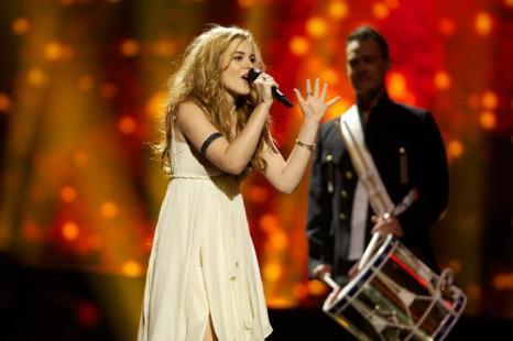 Эммили де Форест в финале Евровидения 2013. Фото: Ragnar Singsaas/Getty Images