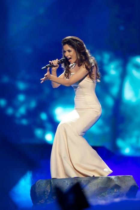 Злата Огневич из Украины в финале Евровидения 2013. Фото: Ragnar Singsaas/Getty Images