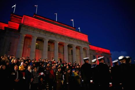 День защитника отечества отмечают в Новой Зеландии. Фото:  Phil Walter / Getty Images