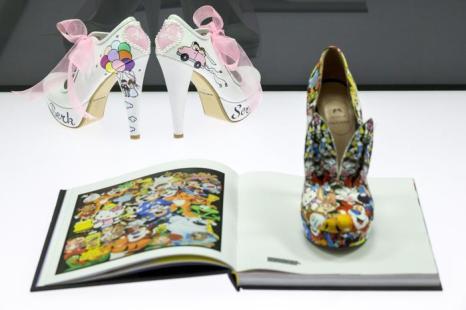 Выставка необычной обуви прошла в Лейпциге. Фото: Joern Haufe/Getty Images