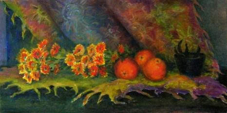 Натюрморт с апельсинами. Фото с сайта tarbut.zahav.ru