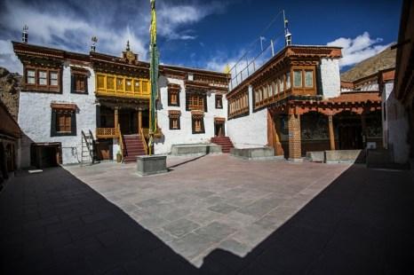 Монастырь Ликир поблизости от столицы Ладака Ле. Фото: Daniel Berehulak/Getty Images