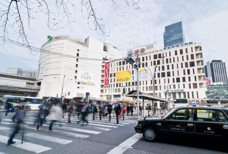 Сибуя – постоянно меняющийся торговый район Токио. Фото: Keith Tsuji/Getty Images