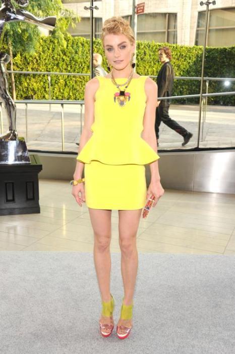 Модель Джессика Стам на вручении Премии моды CFDA Fashion Awards 2013 в Нью-Йорке. Фото: Jamie McCarthy/Getty Images