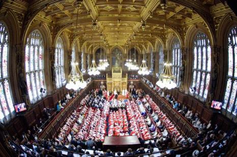 Елизавета II выступила с тронной речью на Церемонии открытия парламента. Фото: Geoff Pugh - WPA Pool/Getty Images