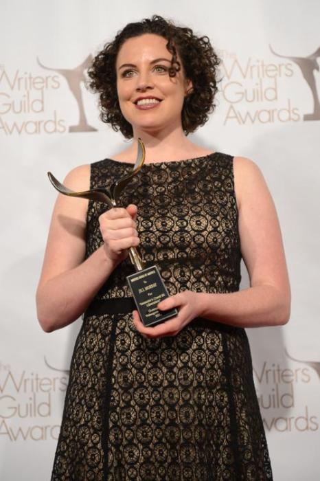 Джилл Мюррей, победитель в номинации «Лучшая видеоигра», на вручении премии Гильдии писателей США. Фото: Jason Kempin/Getty Images for WGAw