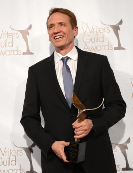 Кристофер Уайтселл на вручении премии Гильдии писателей США. Фото: Jason Kempin/Getty Images for WGAw