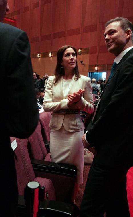 Крон-принцесса Дании Мэри на международной конференции по проблеме женщин и девочек в Малайзии. Фото: Rahman Roslan/Getty Images